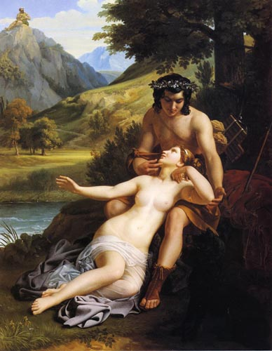 """The Love of Acis and Galatea"", Alexandre Cabanel (1823-1889)"