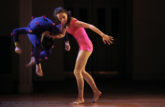 Dancers: Christopher Williams & Liz Filbrun, Photo by Julieta Cervantes, 2009