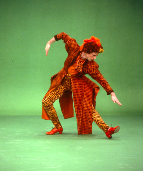 Douglas Dunn,  Myth of Modern Dance.  Photo by Sheila O'Neal, 1990