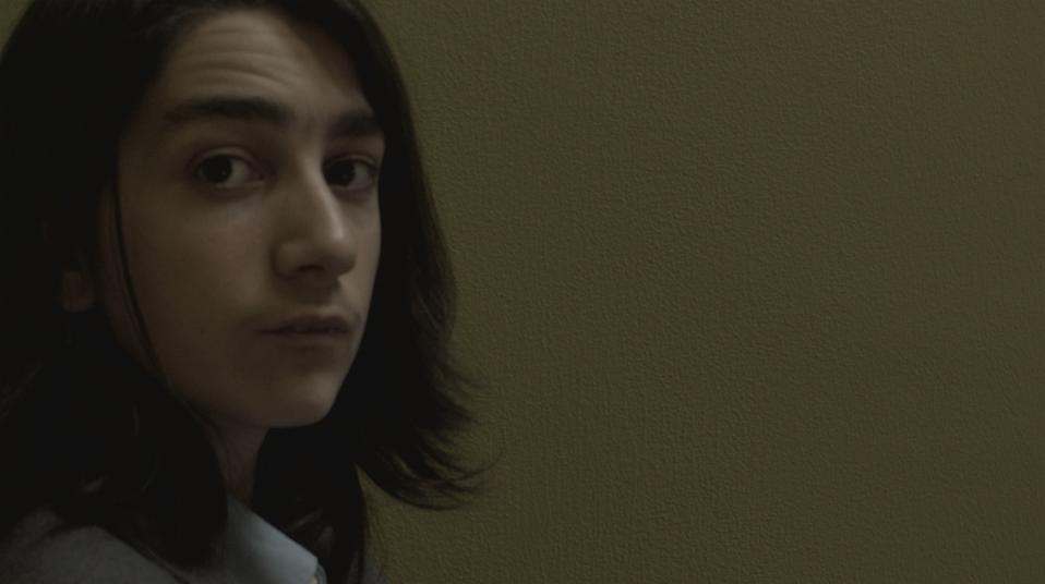 Film still from Seahorse Powder Room, 2017