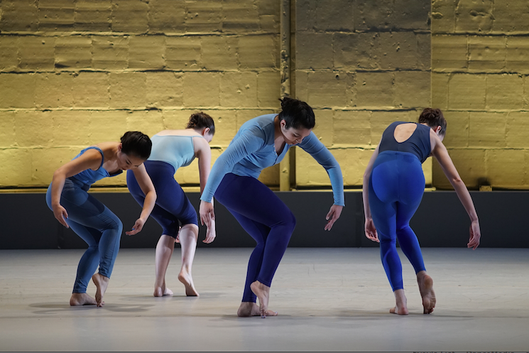 Dancers Left to Right: Chie Schulz, Jessica Moore Ruhlin, Jacqueline Ledesma, Hannah Castoro. Photo by Aman Cheung, 2018