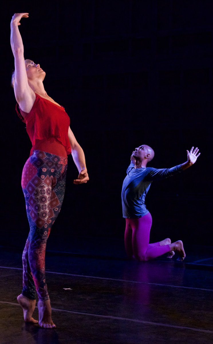 Dancers Left to Right: Emily Pope, Paul Singh. Photo by Sally Cohn, 2018