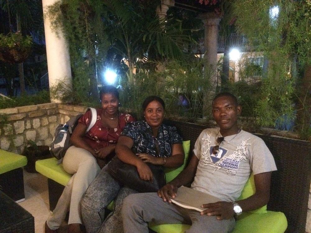 GEAD LeadersAdaline, Guerna, and Emmanuel
