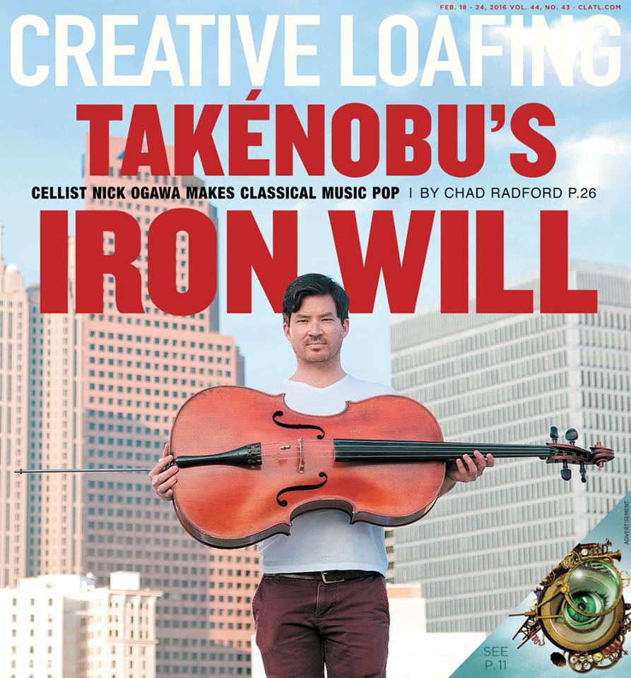 Creative Loafing cover story 2/18/16