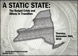 A Static State: The Budget Crisis and Albany in Transition