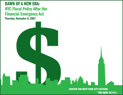 Dawn Of A New Era: NYC Fiscal Policy after the Financial Emergency Act