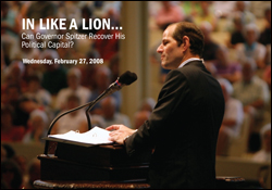 In Like A Lion… Can Governor Spitzer Recover His Political Capital?