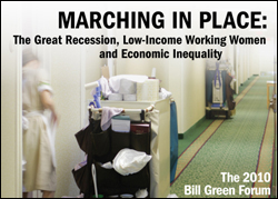 Marching In Place: The Great Recession, Low-Income Working Women and Economic Inequality