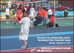 Opening the Schoolyard Gates: Reclaiming Urban Community Space