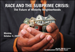 Race and the Subprime Crisis