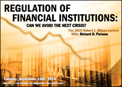 Regulation of Financial Institutions: Can We Avoid the Next Crisis?
