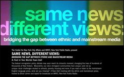 Same News Different Views, Bridging the Gap Between Ethnic and Mainstream Media