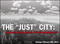 The Just City: Equality, Social Justice and the Growing City