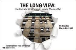 The Long View: How Can New York Preserve Housing Affordability?