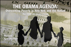 The Obama Agenda: Overcoming Poverty in New York and the Nation