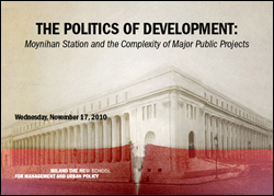 The Politics of Development: Moynihan Station and the Complexity of Major Public Projects