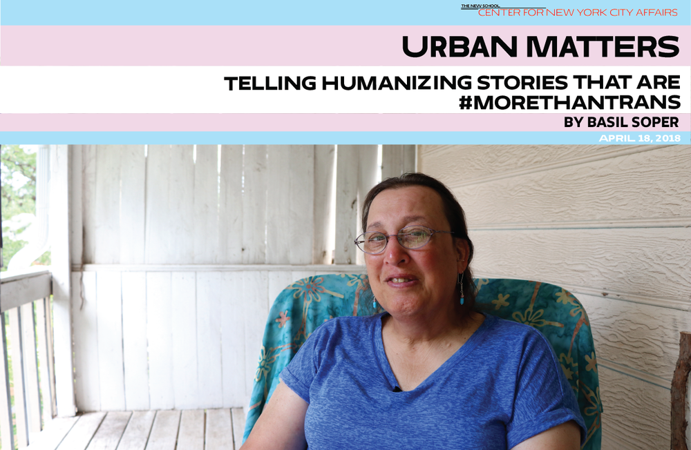 By Basil Soper - In May 2017, Urban Matters introduced its readers to Transilient, a traveling photojournalism project founded by students in the Bachelor's Program for Adult and Transfer Students at The New School.  We recently asked the project's director, Basil Soper, for an update; here's his report, including photos from trans profiles done during the 2017 Southern and Southwestern tour.