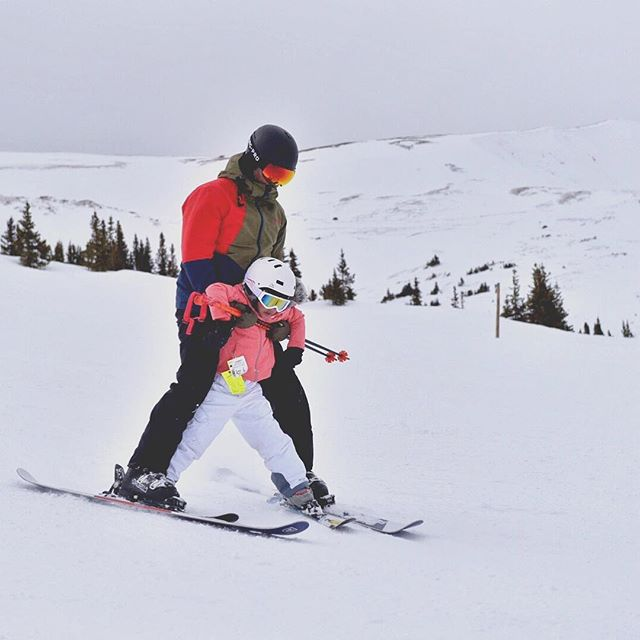 My brother @rick121_  teaching my niece how to ski in Keystone, Colorado. I think we just started a family tradition. #familytrip #keystone #skiing #brothersroadtrip #travel #familytravel #newtraditions #snow #fatherdaughter #thankyouforyourservice #moment #pricelessmoments