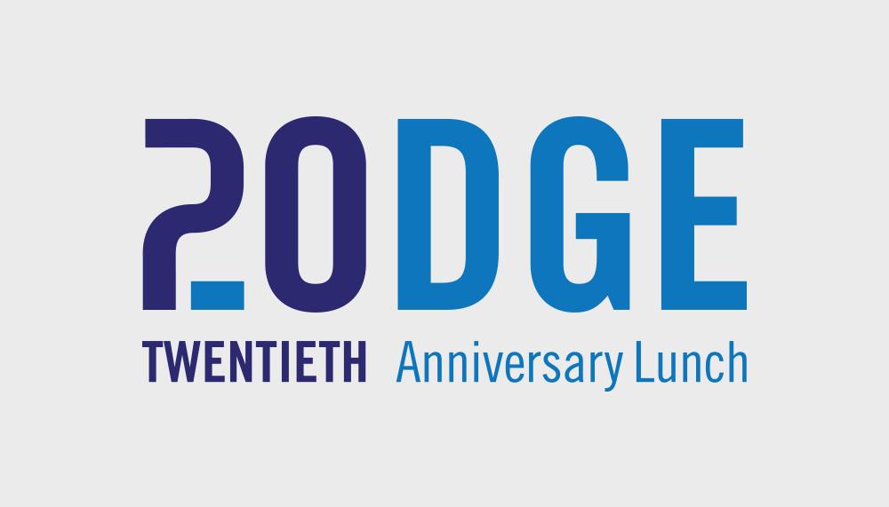 Podge 20 Logo