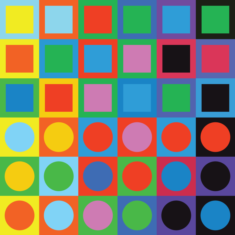 Homage to   Victor Vasarely  1906 – 1907
