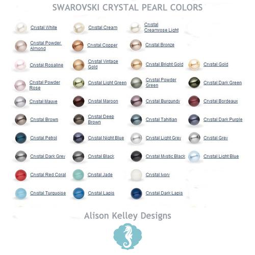 a619f647ea1049 Swarovski Pearl Cluster Earrings — Alison Kelley Designs
