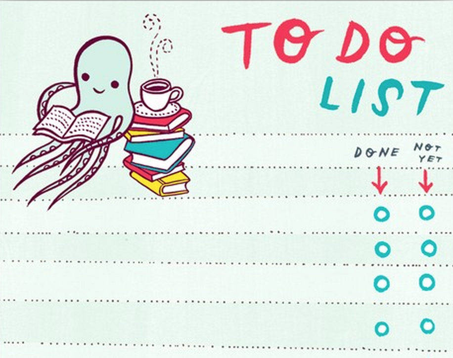 We love this To Do List on Etsy by  BoyGirlParty !