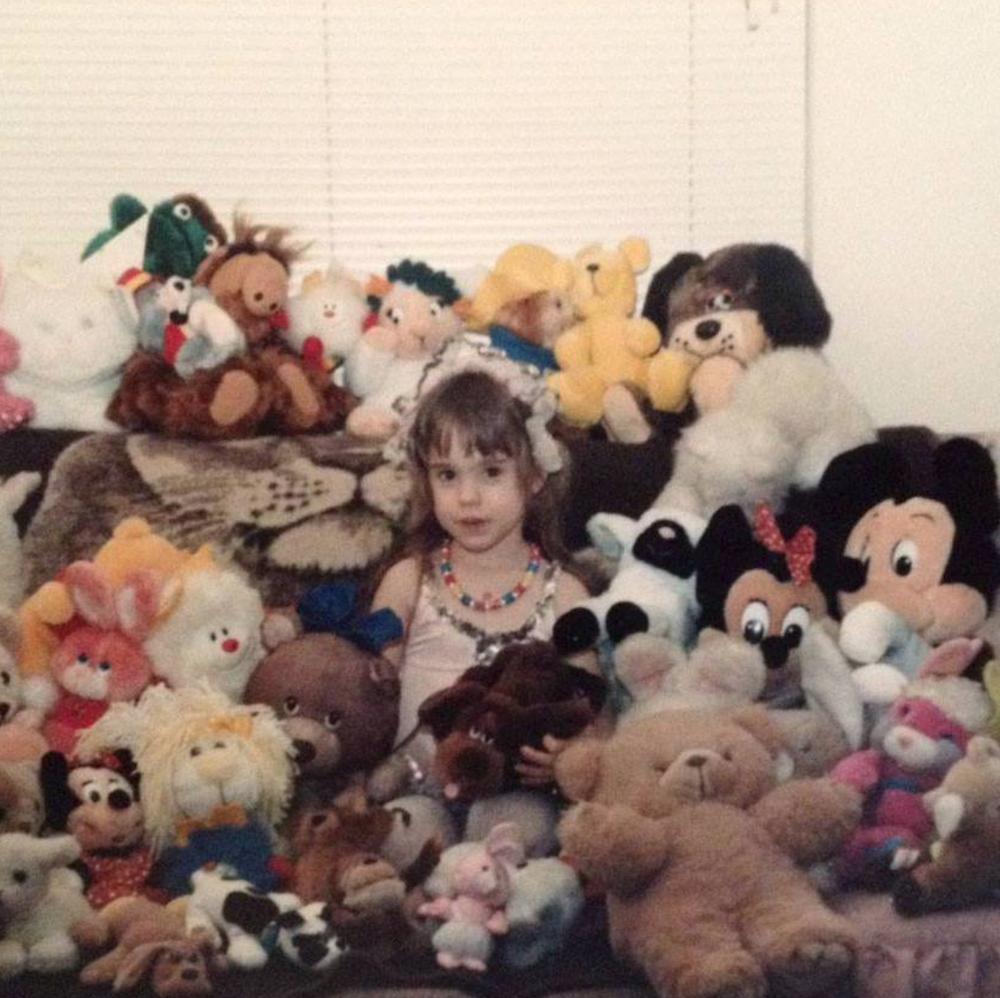 Sara Vausbinder as a little girl!