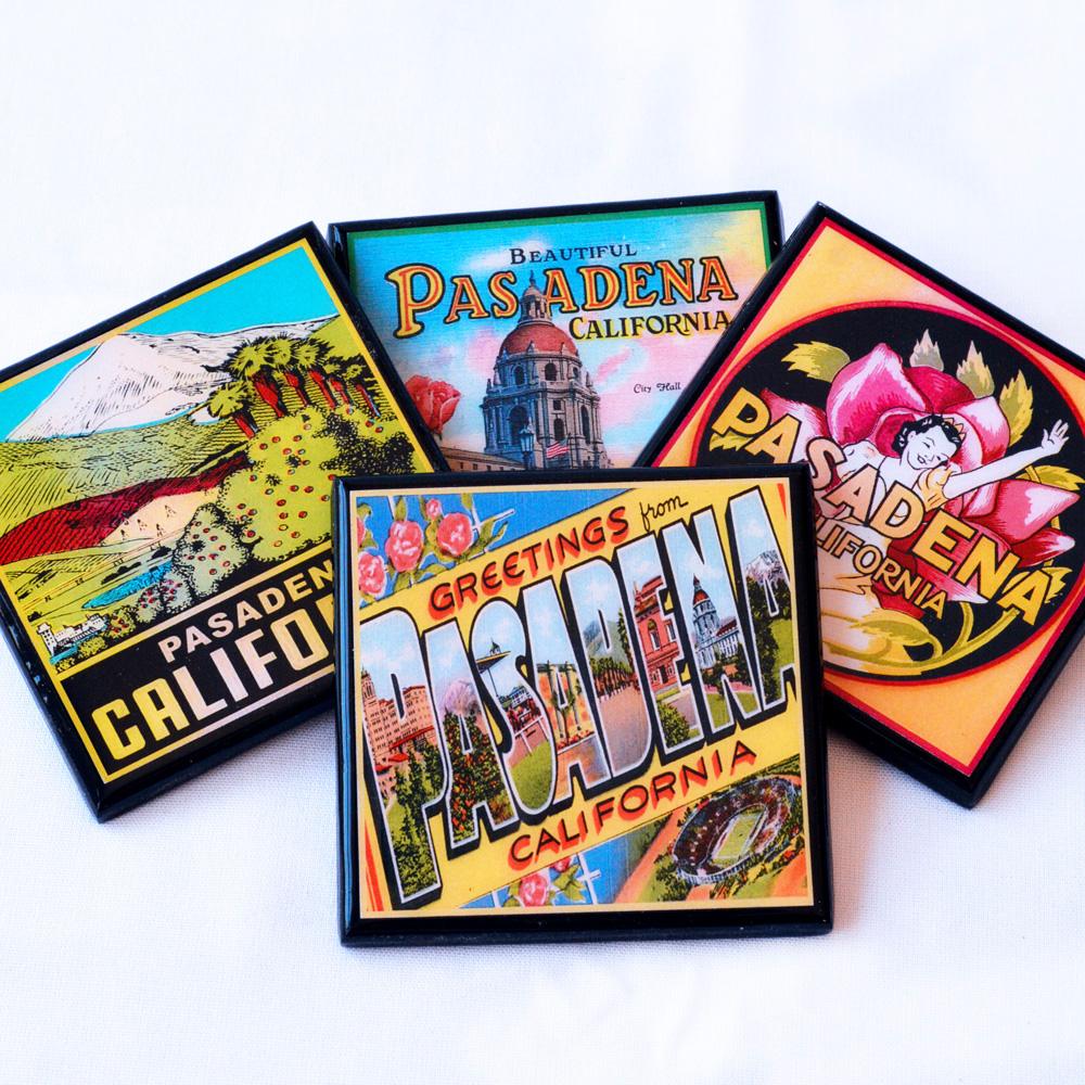 Pasadena California Coaster Set by Cheltenham Road.jpg