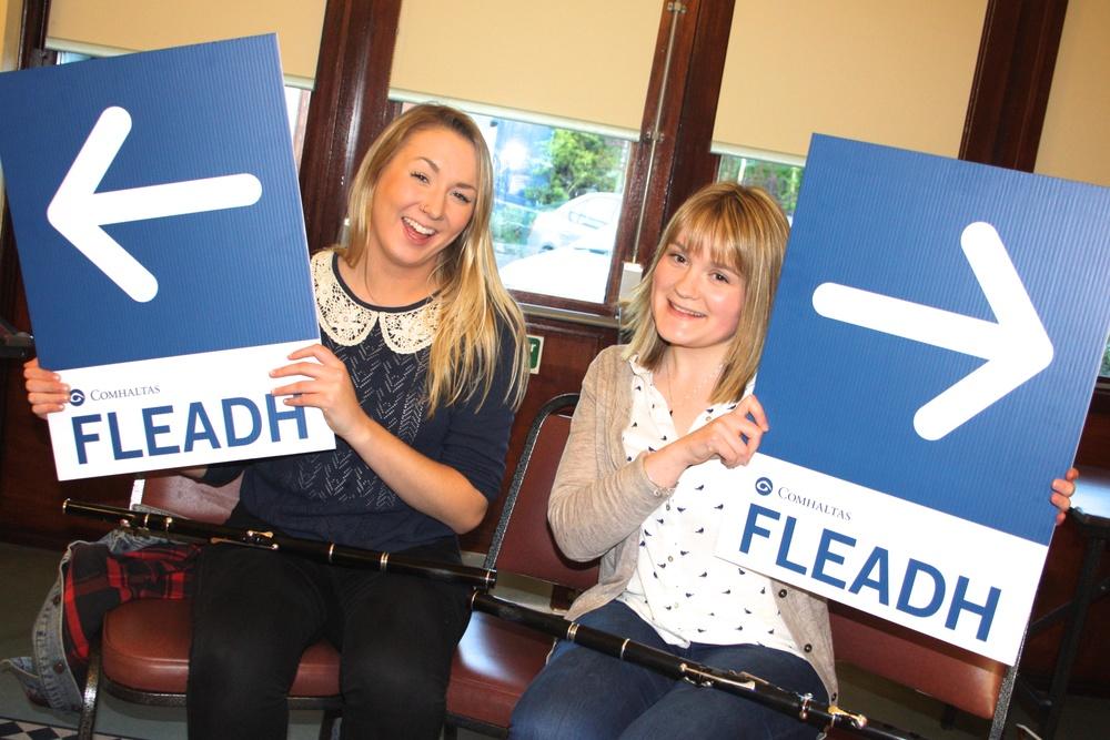 Eimear Duffy and Eilís Ní Shuilleabháin show us the way to the fleadh!