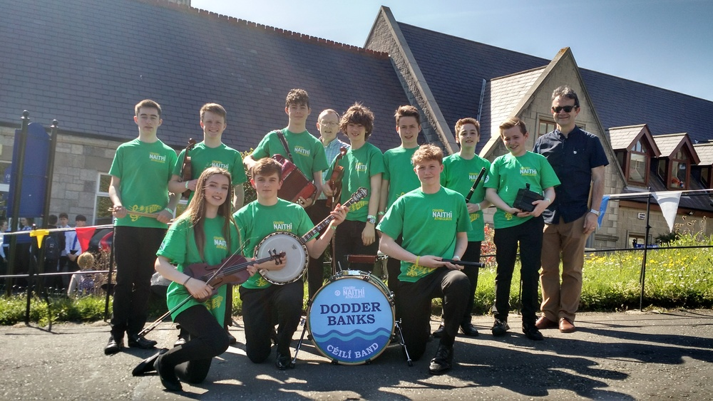 1st competition of the day - 2nd place to U15 Céilí Band