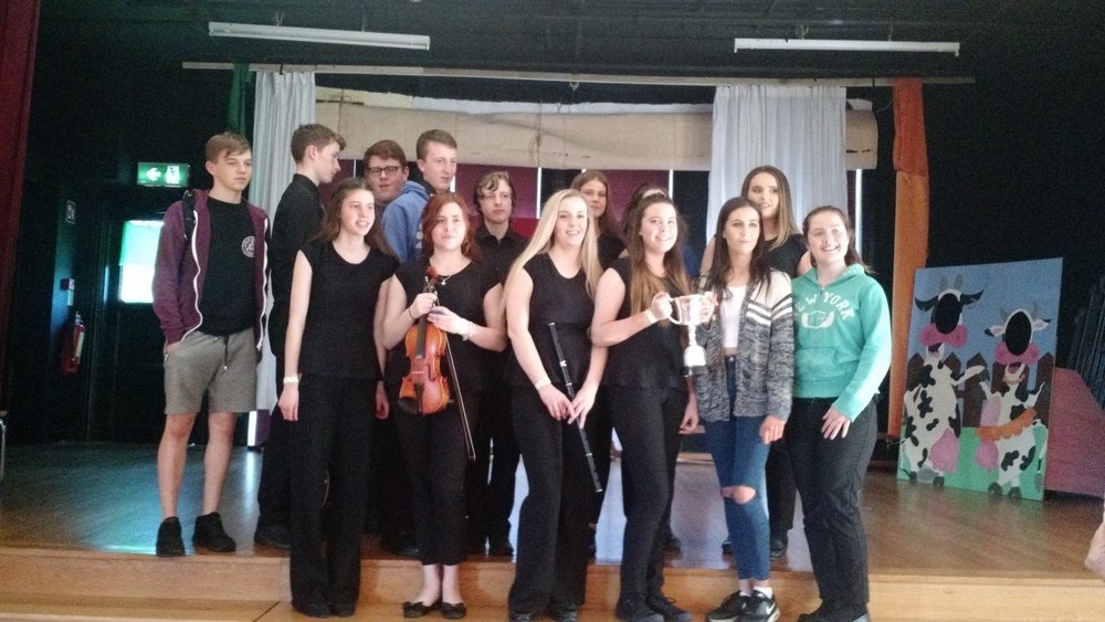 ...and not to be outdone - the U18 Grúpa Cheoil - 1st place at Fleadh Cheoil Átha Cliath 2016