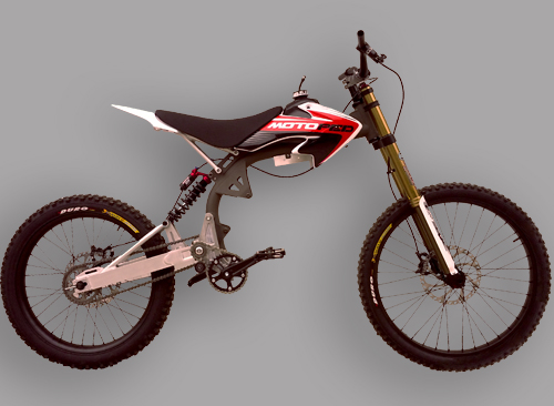 Motoped rolling chassis (bike in a box) special order only — San ...
