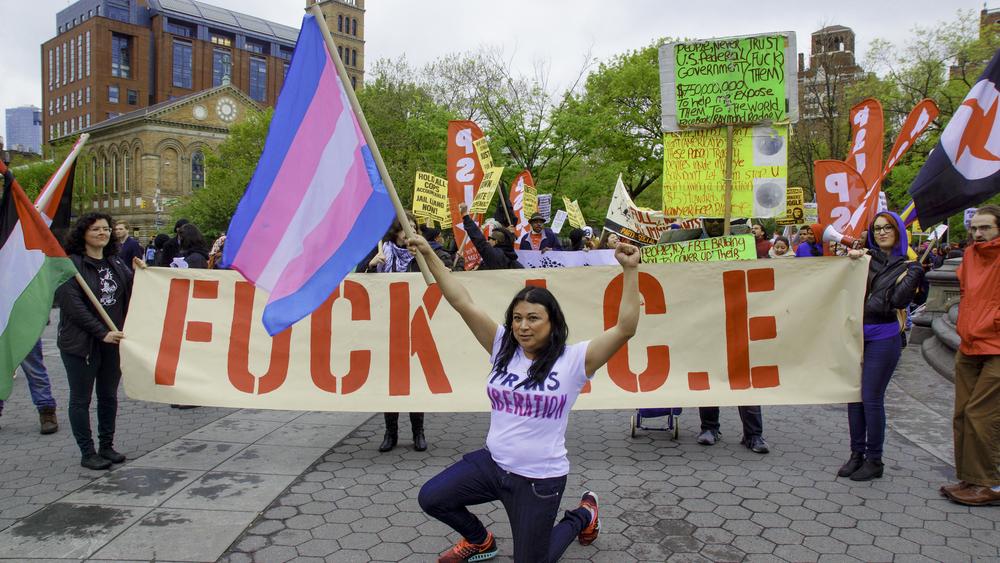 Jennicet Gutiérrez (La Familia: Trans Queer Liberation)