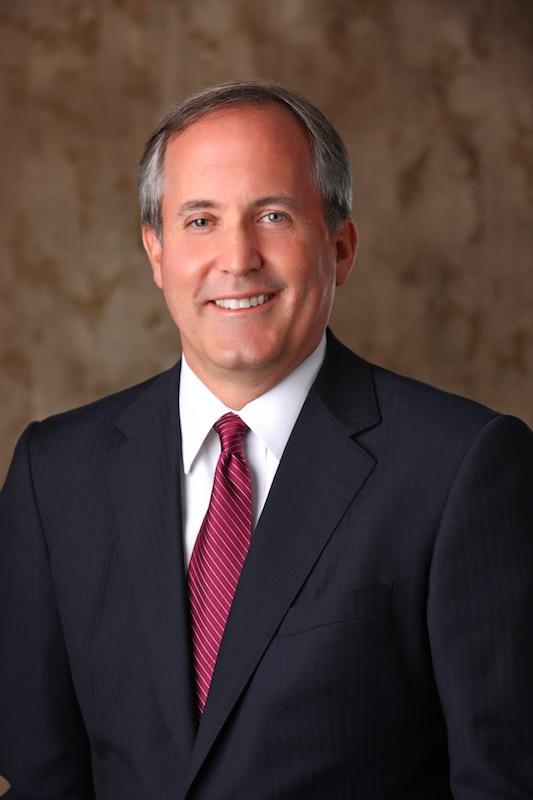 Ken Paxton - Attorney General   Website    Facebook