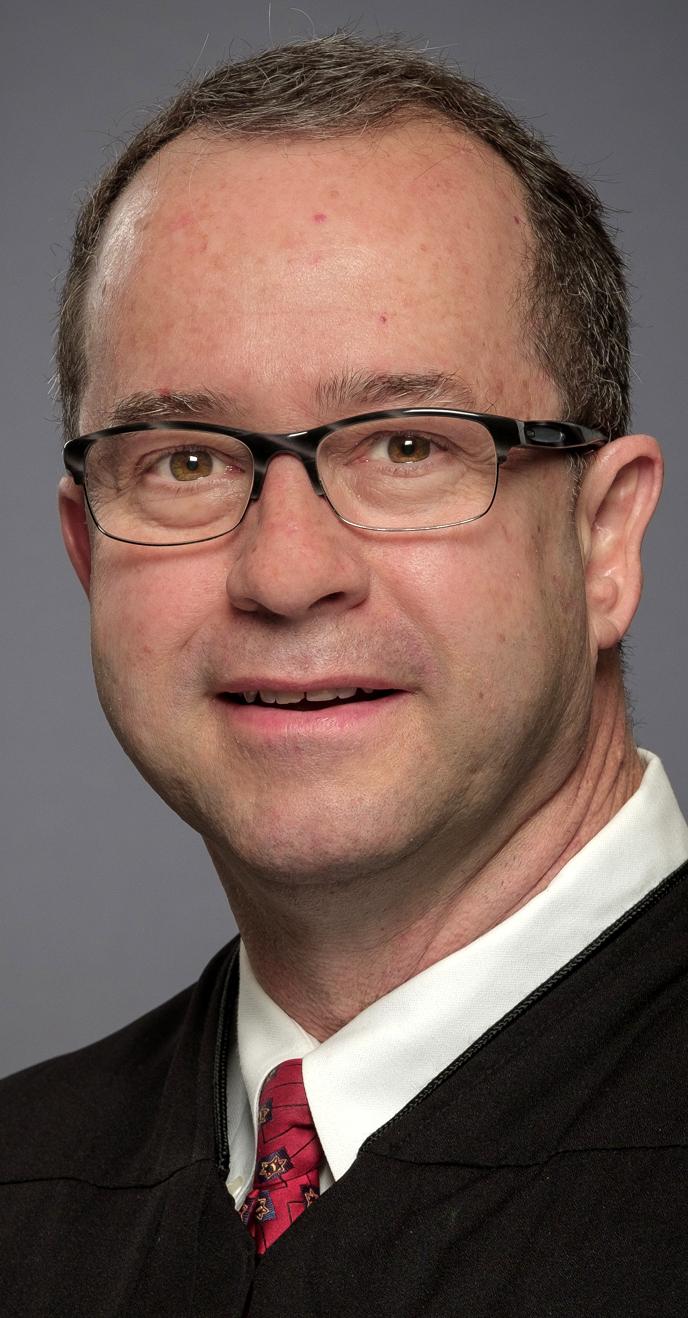 John Devine - Justice, Supreme Court, PL 4   Website    Facebook