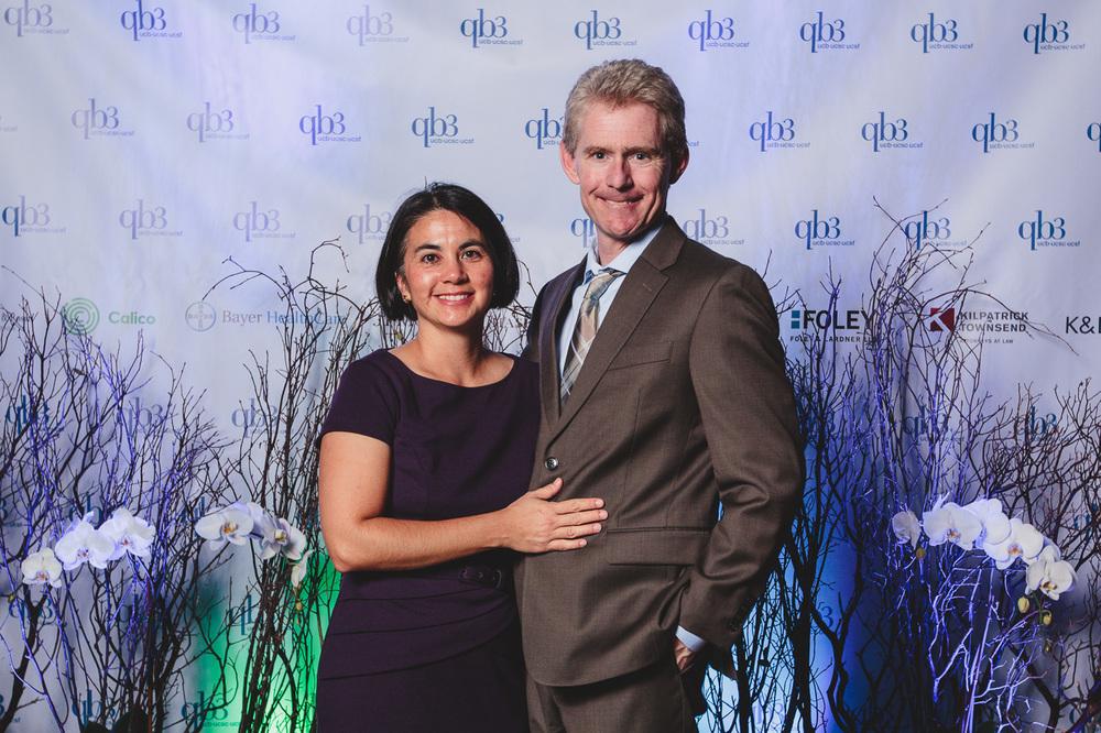 Susanne and Joe DeRisi