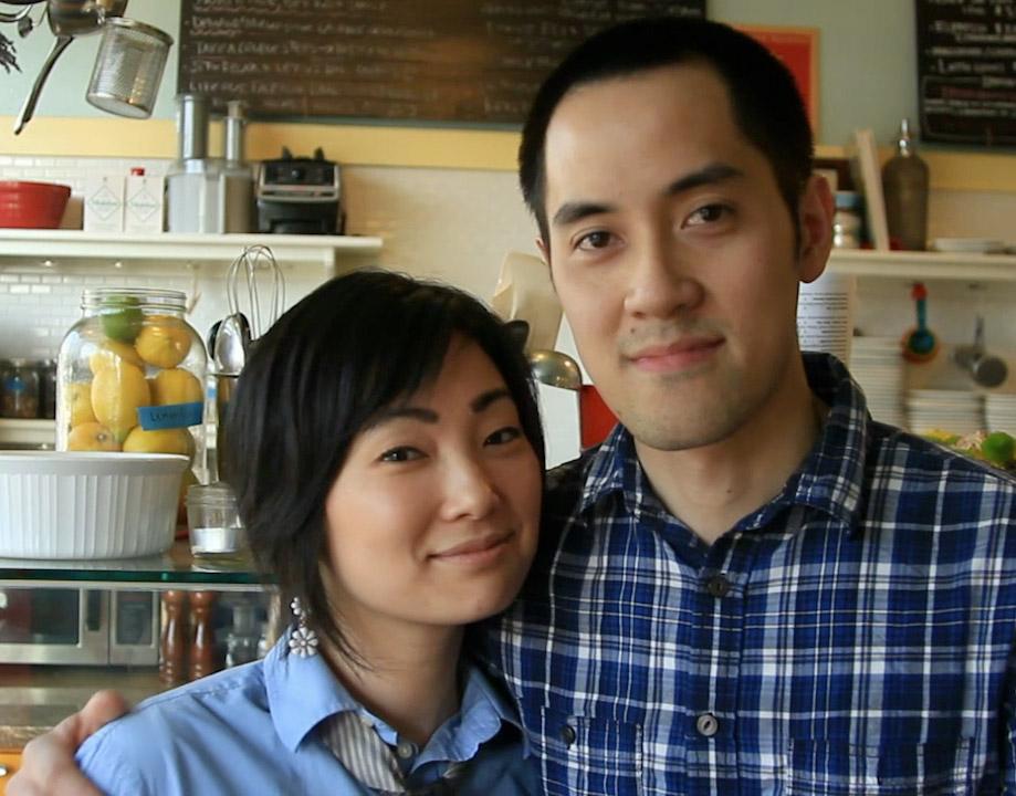 Owner Chef Kris Toliao &General Manager Yuka Ioroi