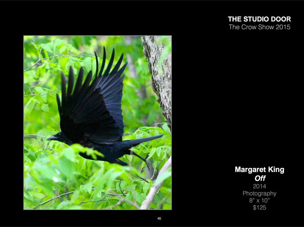 Page 64:  https://issuu.com/thestudiodoor/docs/the_crow_show_exhibitino_catalog_we