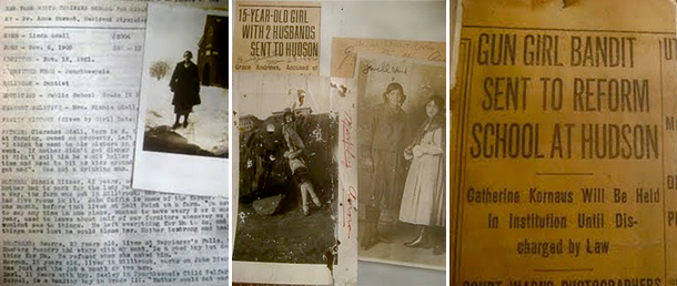 Lisa Durfee of Hudson, NY discovered these photos and documents in a box at a local garage sale.
