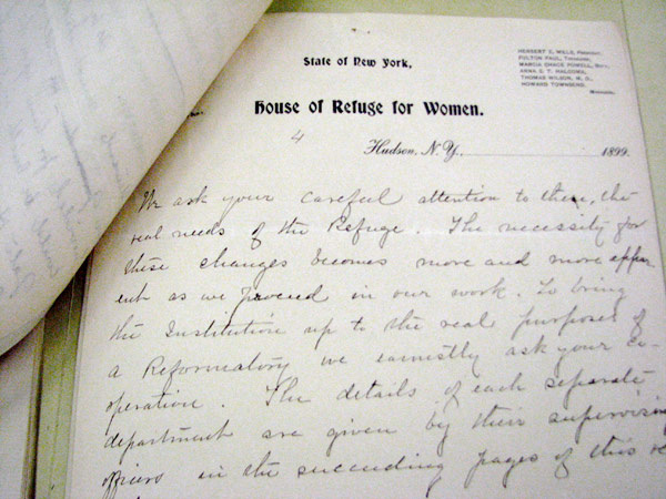 Annual report #12, House of Refuge for Women at Hudson, 1899
