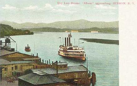 Hudson, NY postcard