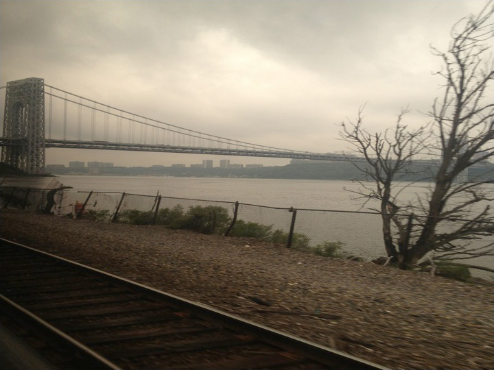The Hudson River, photo by Geoff Ward