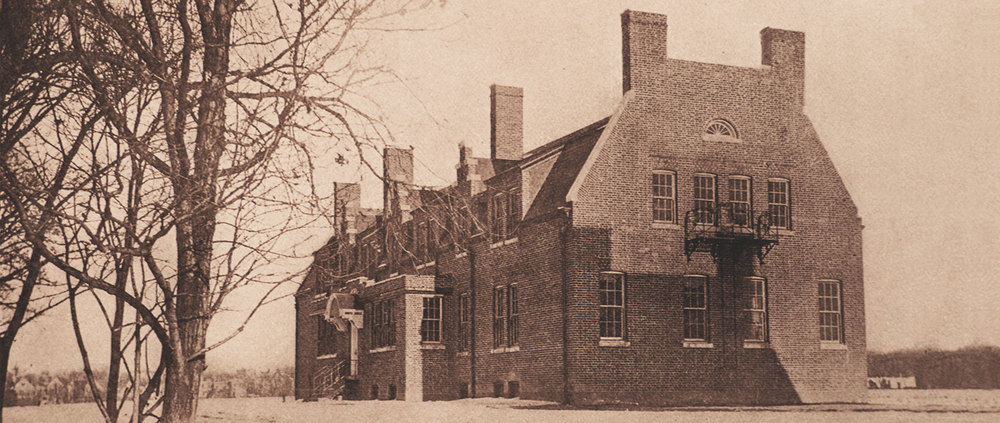The  NYS Training School for Girls , with the small river town of  Hudson, NY  in the background