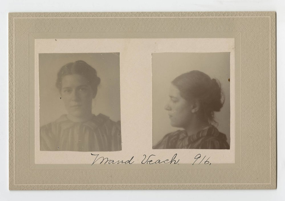 Photo portrait, Maud Veach, Prison Public Memory Project