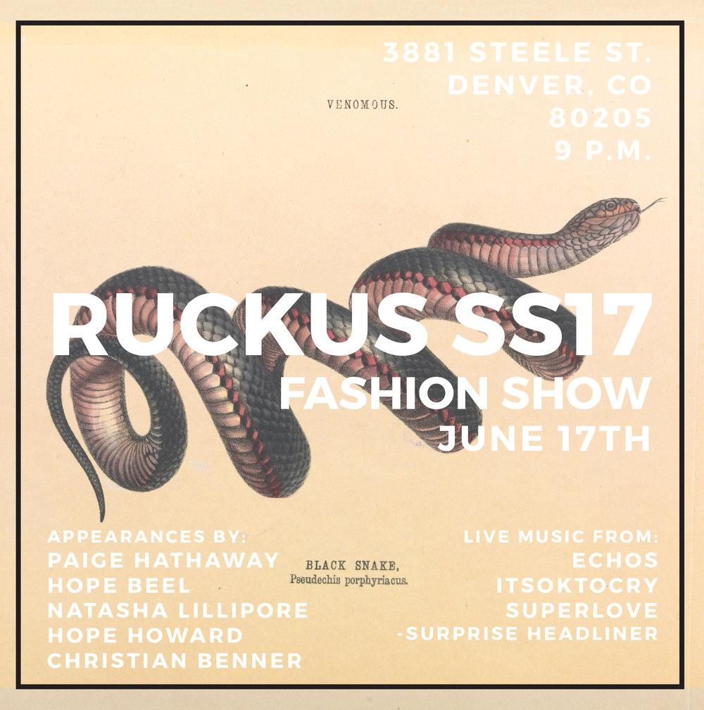 ruckus fashion show paige hathaway