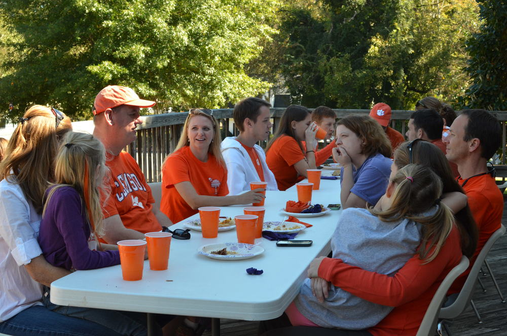 Alumni from the 90's and 00's at PSA's Annual Homecoming Tailgate