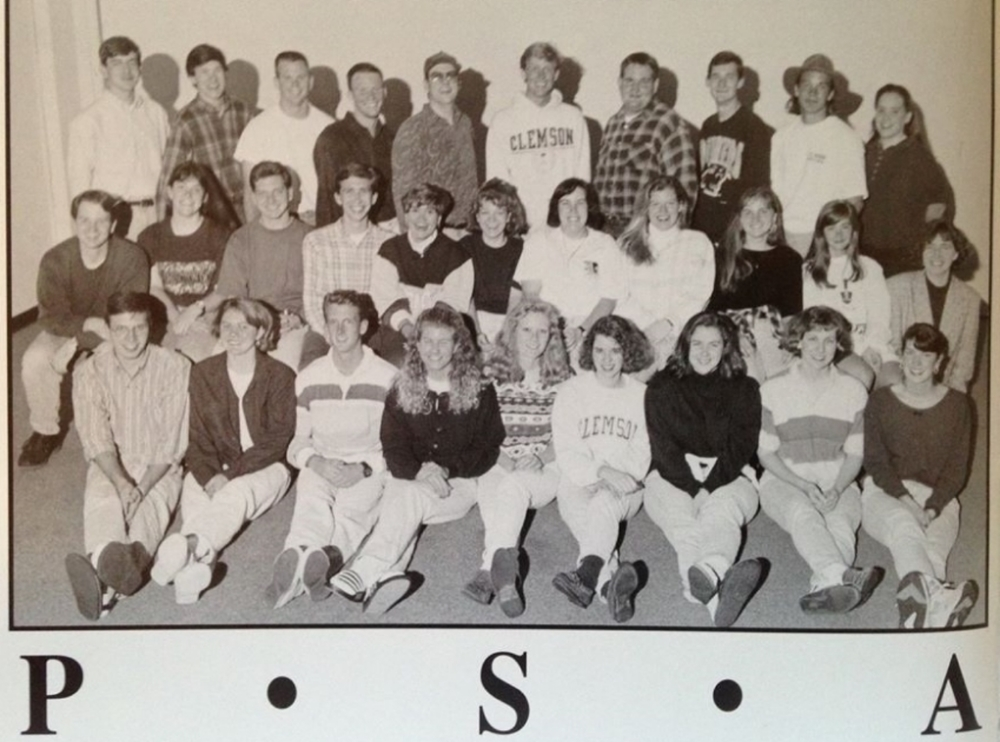 PSA group photo in the 1995 issue of TAPS