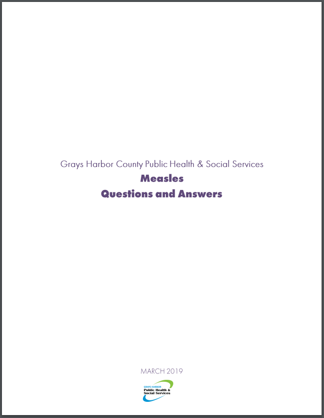 Download and print the Measles Questions and Answers document (.pdf)