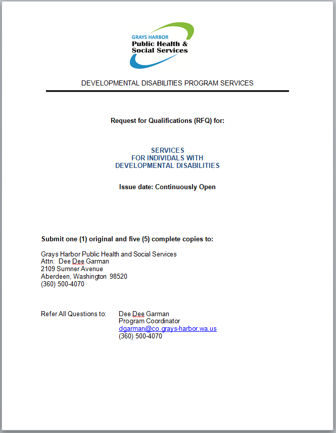 Download and print RFQ application (.docx)