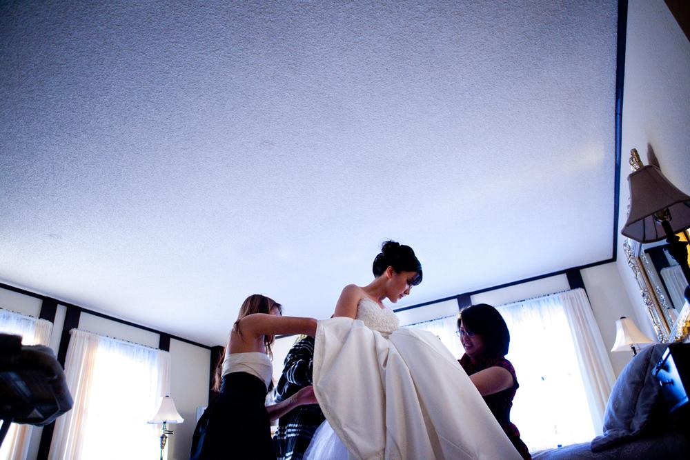 Anchorage, AK Wedding:  Xiaolu and Pongco